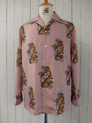 WACKO MARIA TIM LEHI / L/S HAWAIIAN SHIRT (TYPE-3)