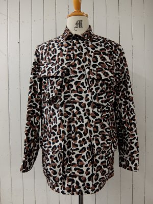 WACKO MARIA LEOPARD FATIGUE JACKET (TYPE-1)