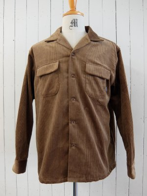 RADIALL MOTOWN - OPEN COLLARED SHIRT L/S