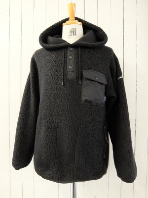 RADIALL SMOKEY CAMPER HOODED SHIRTL/S