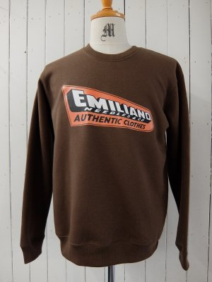 EMILIANO CREW NECK LOGO SWEAT