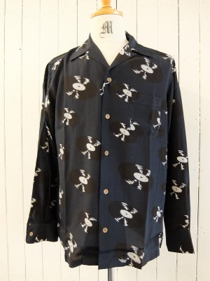 WACKO MARIA HAWAIIAN SHIRT L/S (TYPE-1)