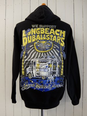 RADIALL LONG BEACH HOODIE SWEAT SHIRT L/S