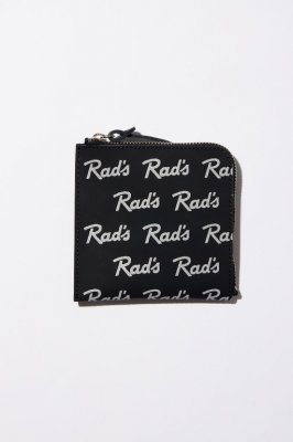 RADIALL RAD'S - ZIP SQUARE WALLET