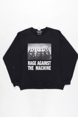 WACKO MARIA RAGE AGAINST THE MACHINE / CREW NECK SWEAT SHIRT (TYPE-4)
