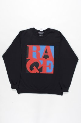 WACKO MARIA RAGE AGAINST THE MACHINE / CREW NECK SWEAT SHIRT (TYPE-5)