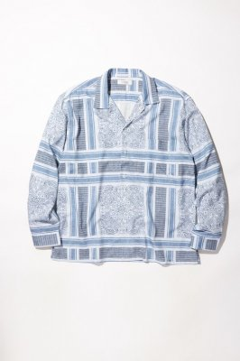 RADIALL MONTE CARLO - OPEN COLLARED SHIRT L/S