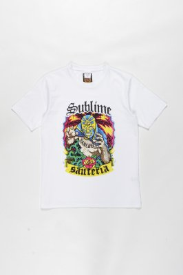 WACKO MARIA SUBLIME / WASHED HEAVY WEIGHT CREW NECK T-SHIRT ( TYPE-3 )