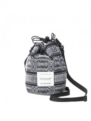 COOTIE Mexican Jacquard Drawstring Bag