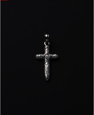ANTIDOTE BUYERS CLUB Engraved Cross Pendant