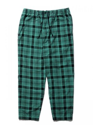 COOTIE Print Nel Check Easy Pants