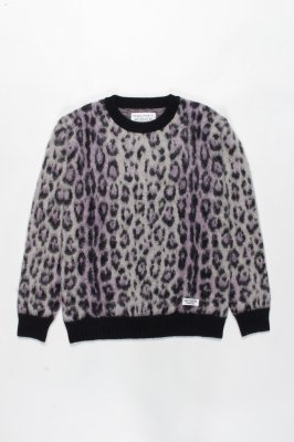 WACKO MARIA JAGUAR MOHAIR CREW NECK SWEATER