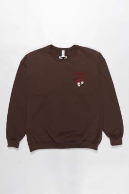 WACKO MARIA UP IN SMOKE / CREW NECK SWEAT SHIRT ( TYPE-4 )