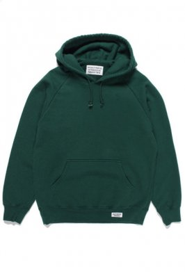 WACKO MARIA WASHED HEAVY WEIGHT PULLOVER HOODED SWEAT SHIRT ( TYPE-1 )