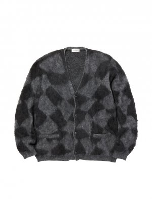 RADIALL MOONGLOW - CARDIGAN SWEATER L/S