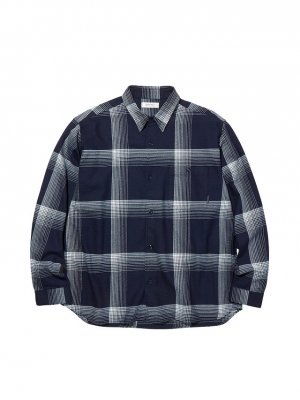 RADIALL MONTE CALRO - REGULAR COLLARED SHIRT L/S