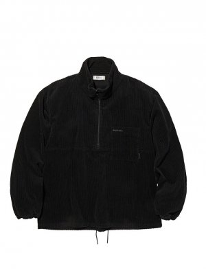 RADIALL TARIKA - PULLOVER STAND COLLARED SHIRT L/S