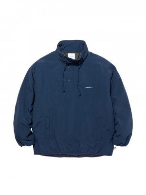 RADIALL CUTLASS - STAND COLLARED PULLOVER JACKET
