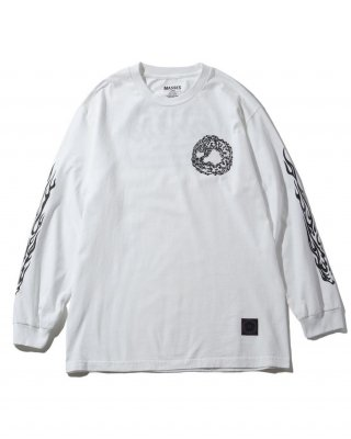 M&M PRINT L/S T-SHIRT (21-MT-007)