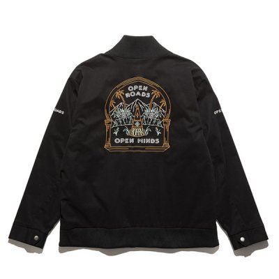 "ROARK ""OPEN ROADS"" BOMBER JACKET"
