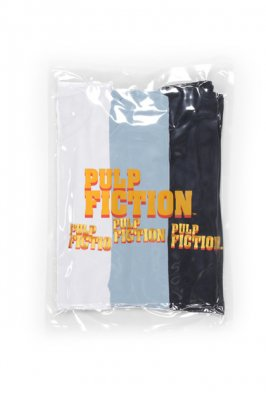 WACKO MARIA PULP FICTION / 3 PACK CREW NECK COLOR T-SHIRT ( TYPE-1 )