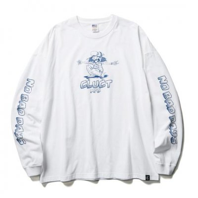CLUCT NO BAD DAYS [L/S TEE]