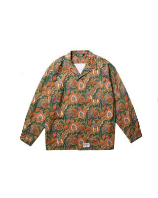 CUTRATE MARIA PAISLEY PATTERN L/S SHIRT