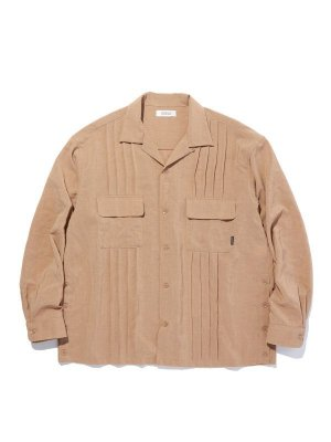 RADIALL MONTE CALRO - OPEN COLLARED SHIRT L/S
