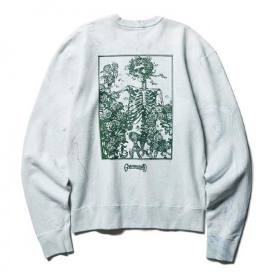 CLUCT SKELETON AND ROSES [CREW SWT]