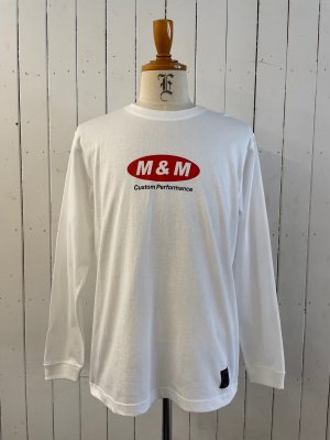 M&M PRINT L/S T-SHIRT (21-MT-010)