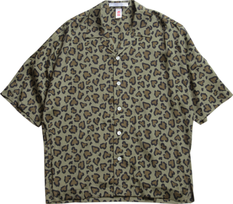 ChahChah HEART LEOPARD CHILL SHIRTS