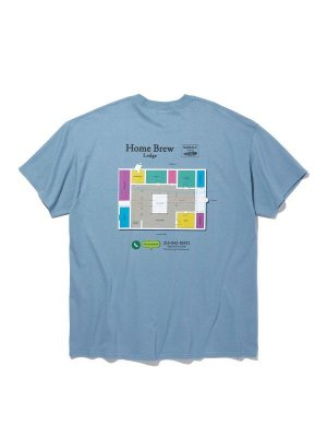 RADIALL HOME BREW - CREW NECK T-SHIRT S/S
