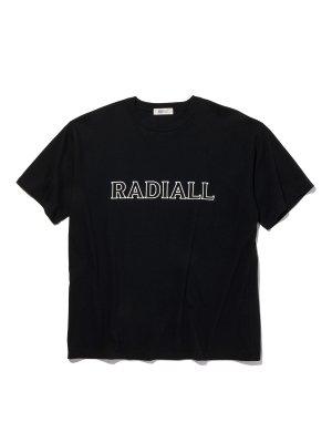 RADIALL OUTLINE - CREW NECK T-SHIRT S/S