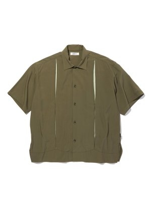 RADIALL ON THE CORNER - OPEN COLLARED SHIRT S/S