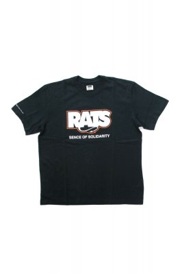 RATS BOX FLAME LOGO TEE