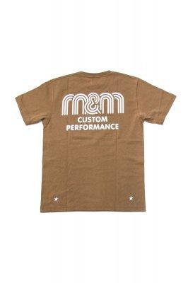 M&M PRINT S/S TEE (21-MT-021)