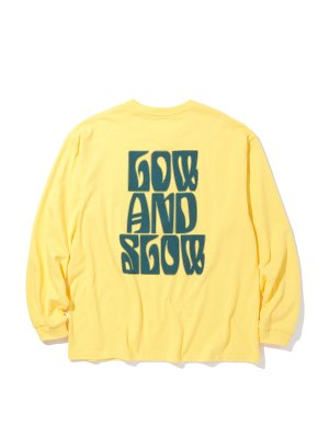RADIALL LO-N-SLO – CREW NECK T-SHIRT L/S