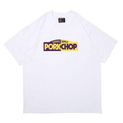 PORK CHOP BLOCK LOGO TEE