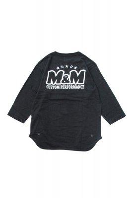 M&M PRINT FOOTBALL T-SHIRT (21-MT-022)