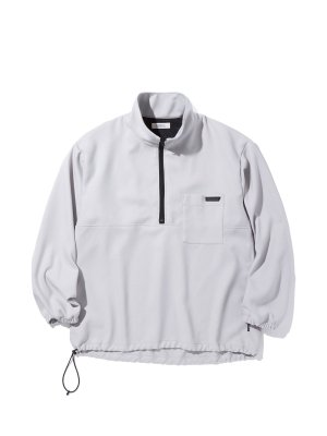 RADIALL TARIKA – STAND COLLARED PULLOVER SHIRT L/S