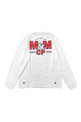 M&M PRINT L/S TEE (21-MT-025)