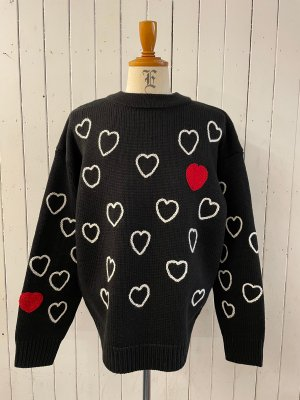 ChahChah Heartfull Handembroydery Knit