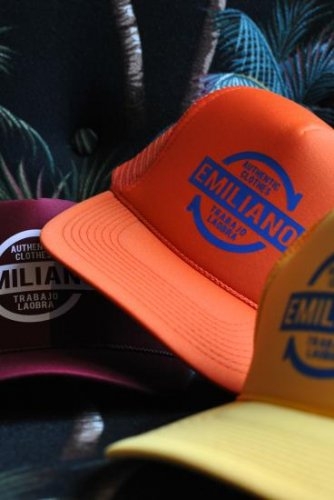 Emiliano KIMCO MESH CAP