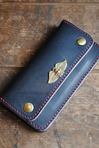 CUT RATE LEATHER LONG WALLET