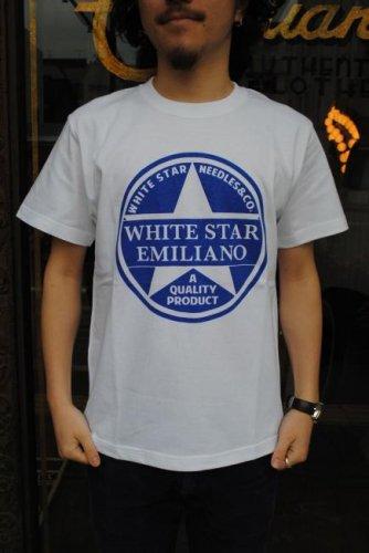 Emiliano white star emiliano tee
