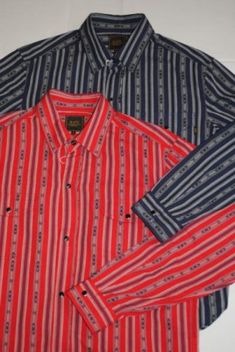 <img class='new_mark_img1' src='//img.shop-pro.jp/img/new/icons20.gif' style='border:none;display:inline;margin:0px;padding:0px;width:auto;' />RATS INDIAN STRIPE SHIRT
