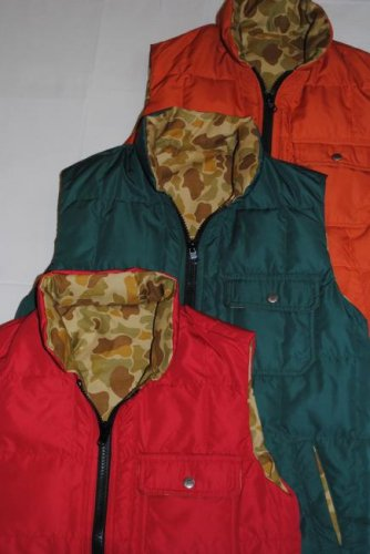 Emiliano × CLUCT REVERSIBLE DOWN VEST