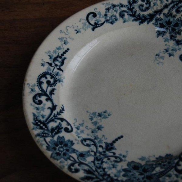 assiette ancienne E.BOURGEOIS