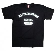 <img class='new_mark_img1' src='http://shop.have-a-goodtime.com/img/new/icons11.gif' style='border:none;display:inline;margin:0px;padding:0px;width:auto;' />haveagoodtime SCHOOL TEE BLACK