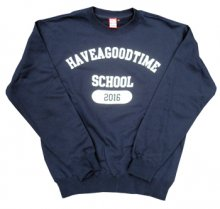 <img class='new_mark_img1' src='http://shop.have-a-goodtime.com/img/new/icons11.gif' style='border:none;display:inline;margin:0px;padding:0px;width:auto;' />haveagoodtime SCHOOL CREWNECK NAVY